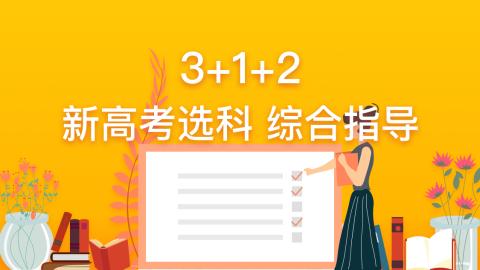 3+1+2 新高考选科 综合指导