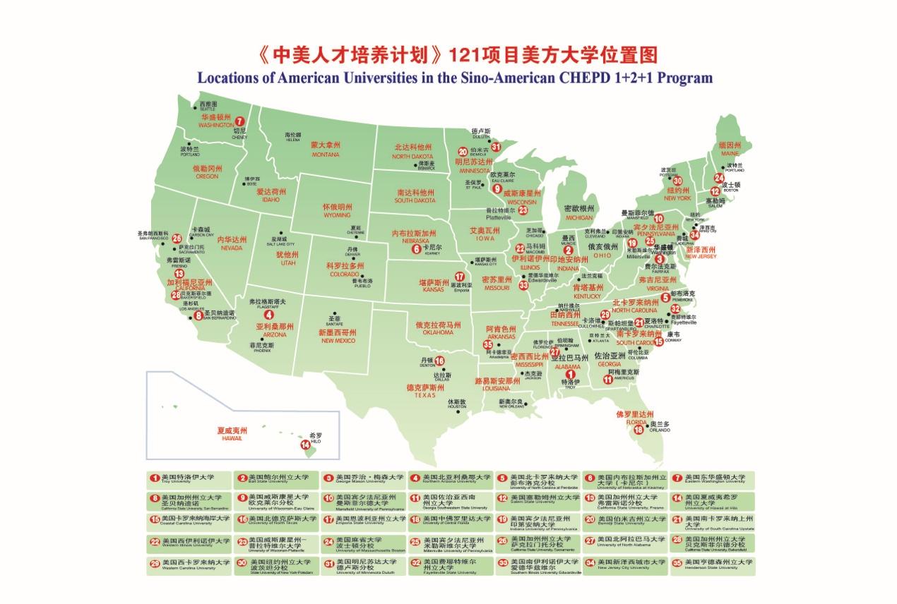 《121中美人才培养(双学位)计划》全面介绍,高三报考,大一、研一新生均需关注