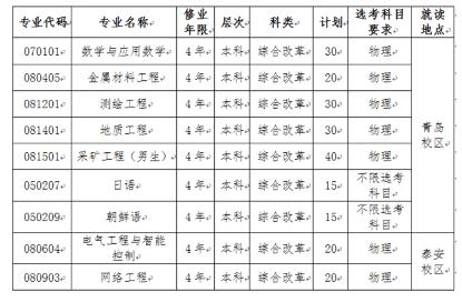 山东科技大学2020年综合评价招生往年面试真题